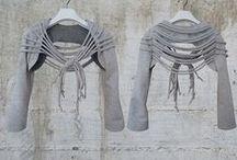 Vaatteita - clothes / Näissä vaatteissa on mieleistäni persoonallisuutta ...ideoita sitten joskus toteutettaviin ompelutöihin...