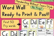 Writing:  PreK - 5th / This is a collaborative board for educational products, teaching tips, and blog posts.