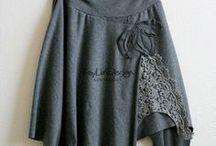 Trikoot -knitwear / Ideoita trikoovaatteiden valmistukseen