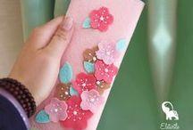DIY Gifts: Original Felt Bags, Wallets & Coin Purses / 100% handmade original designs :)