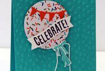 SU Celebrate Today & Balloon Framelits / by Marsha Lasher