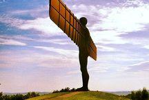 Touring Northumberland and the North East / Beautiful Northumberland, Tyneside, Wearside and Teesside