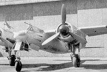 FW TA 154 Foche -Wulf / The Focke-Wulf Ta 154 Moskito was a fast twin-engined German night fighter aircraft designed by Kurt Tank and produced by Focke-Wulf during late World War II. Only a few were produced, proving to have less impressive performance than the prototypes.