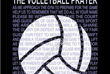 My sport : volleyball.