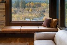 HOMES with a VIEW / Lovely lake houses dream homes big windows amazing view