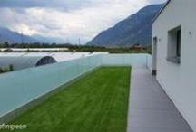 Showcase - Architettura / I migliori progetti realizzati con la nostra erba sintetica a moduli