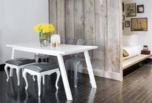 Small Spaces / Small space decorating and storage ideas.