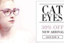 30% Off New Arrival Cat eye eyeglasses and sunglasses