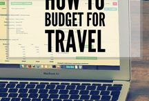 Managing Your Travel Budget / Pins about planning a budget for your trip and managing your money on the road