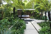 Outdoor Spaces / by Chrystine Hanley