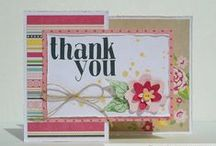My Cards & Projects / Handmade Stamped & Stitched Cards & Layouts