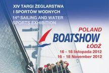 Folder BoatShow 2012 / Informator Targowy Targi Żeglarstwa i Sportów Wodnych Łódź 16-18.11.2012 www.BoatShow.pl