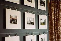 Photo-wall display