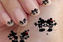 Cartoon manicure
