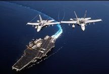Military:  Fighter Jets & Ships