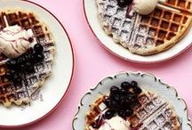 Waffle Crush Wednesdays / The waffles of our dreams.