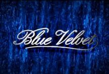"Blütiful Blue Too / She wore blue velvet, Bluer than velvet was the night Softer than satin was the light, from the stars She wore blue velvet, Bluer than velvet were her eyes Warmer than May her tender sighs -  Lyrics from ""Blue Velvet"" written in 1950 by Bernie Wayne and Lee Morris. This version from Bobby Vinton's album Blue on Blue"