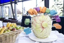 Delicious Decor  / A creative display of food and beverages.