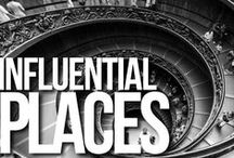 MOST INFLUENTIAL PLACES IN HISTORY / The places where it all hapenned, then and now.