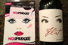 NOSMUDGEE/Flirt Wine Pair-Up / The perfect pair-up for a Flirt-atiously fabulous NOSMUDGEE day!