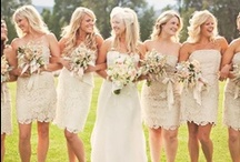 Bridesmaid's Dresses / Bridesmaid's Dresses
