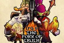 Looking for Group / Have you heard of the webcomic Looking For Group? LFG is a popular webcomic that takes it's inspiration from games -RPGs in particular- and pop culture. LFG is currently trying to become full circle by creating a game on its own. Blind Ferret, the creators behind the comic, joined forces with us, and attempts to get funding through Kickstarter.