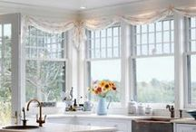 Window Ideas / We love these ideas for window treatments. What do you think?