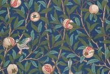 Jardins et chardons / William Morris, grotesques et jardin philosophico-médicinal. Bref végétation, mauvaises herbes et jardinière...   / by delagerie
