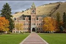 University of Montana: GRIZ! / The University of Montana is located in Missoula, MT.  Blue Mountain Bed and Breakfast also calls Missoula home. #GoGriz!