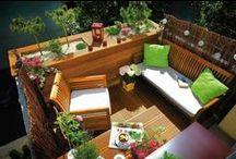 Balkon/taras / Pomysły na piękny balkon i taras