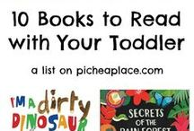 Toddler Books / Book we love for toddlers, books we recommend and books in our subscriptions.