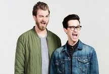 Rhett and Link / Rhett and Link have the best Youtube channel Ever and we pin everything Rhett and link