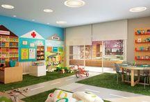 Barnehage interior/ lekeplass