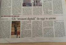Press Release! / Un po' di news e articoli sulle #InvasioniDigitali!