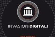 Subscribing Area / Here you can find the links to the 2013 scheduled events for #InvasioniDigitali for the period 20-28 april. Qui trovate i link agli eventi svoltisi durante l'edizione del 2013.
