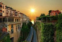 Italian Sunrises & Sunsets / A traveler without observation is a bird without wings – Moslih Eddin Saadi