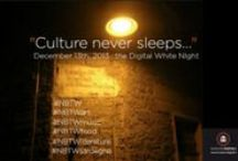 Digital White Night #NBTW / Watch out your Timeline…it's going to be invaded by Culture! #NBTW  December 13th, 2013 - the Digital White Night