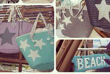 Beachbags made by Zaubergaudi / www.zaubergaudi.de