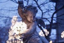 Anges, fées et chérubins... / Couleur bleue... Mystique ! / by Pascaline Harmony