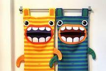 Jeux en tissu pour enfants / Des jeux pour enfants en tissus