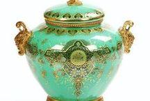 Porcelain, glass and ceramics