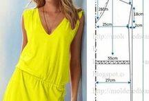 DIY petite robe / Une sélection de patron, diy, tuto pour coudre sa petite robe d'été dans les jolis tissus de Mercerie Caréfil http://www.merceriecarefil.com/fr/ Tutoriel --- Free dress patern