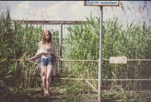 Retrato naturaleza /  Fotografías tomadas por otras personas del estilo que me gustan.