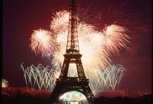 """Fireworks around the world! / """"Fireworks are flowers in the garden sky."""" ― Jarod Kintz"""
