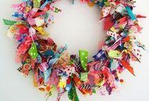 Bouts de tissus créatifs - Fabric scraps ideas / Pleins d'idées pour ne plus jeter vos chutes de tissus !