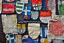 Textile art love