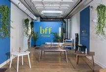 bff Holiday Showroom / We had a pop up showroom to launch our new brand, bff (Brush Factory Furniture) in Cincinnati. Here are some snapshots of the interior!