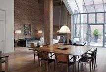Styling with Exposed Brick / Modern meets rustic