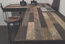 escritorio ideal / para la escritura de un nuevo guión se necesita imaginación, perceberancia, más perceberancia  y un escritorio ideal