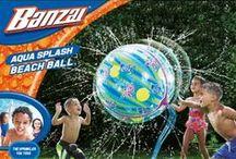 Banzai zabawki wodne - wspaniała zabawa dla dzieci / Zabawki wodne marki Banzai